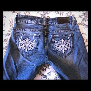 """Authentic Distressed/""""Holey"""" Guess Jeans"""